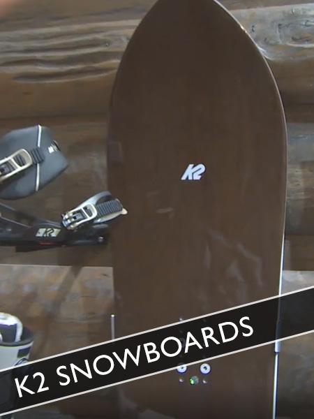 Snowboards von K2