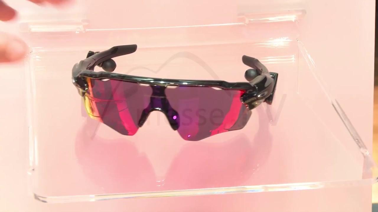 Sonnenbrille Radar Pace mit Lauftrainer von Oakley