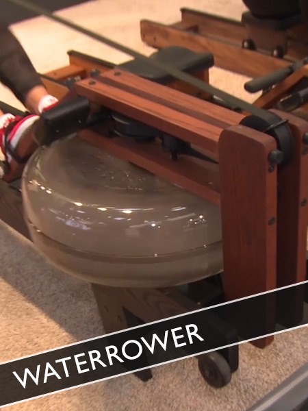 Rudergerät mit Design: Waterrower