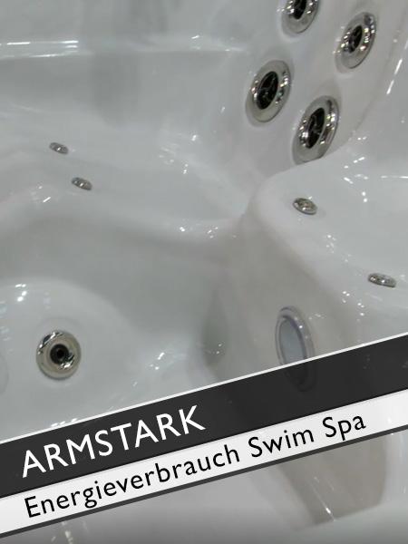Armstark Whirlpools Energieverbrauch Swim Spa