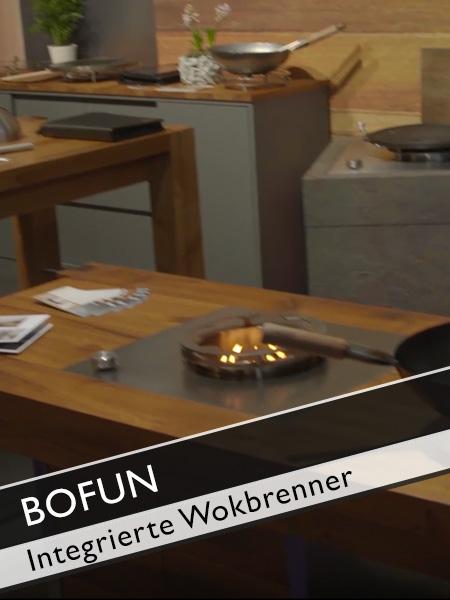 Bofun integrierte Wokbrenner Idee