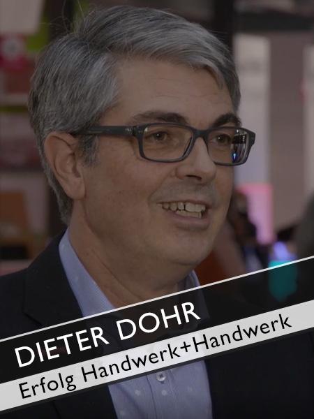 GHM Dieter Dohr Heim+Handwerk Zufriedene Aussteller bedeuten Erfolg