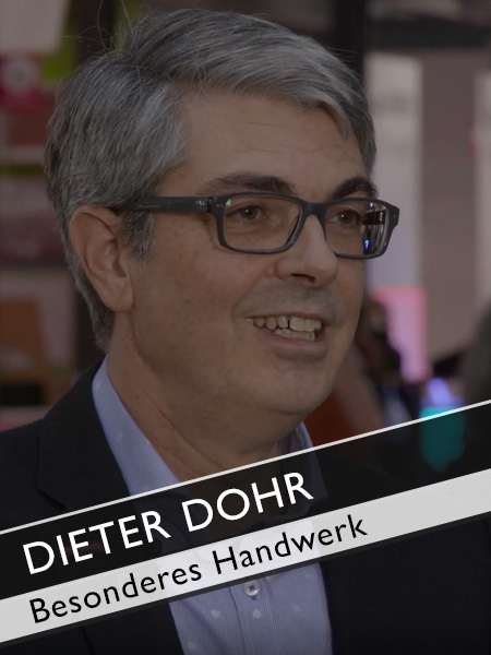 dieter dohr ghm das besondere im handwerk messe tv. Black Bedroom Furniture Sets. Home Design Ideas