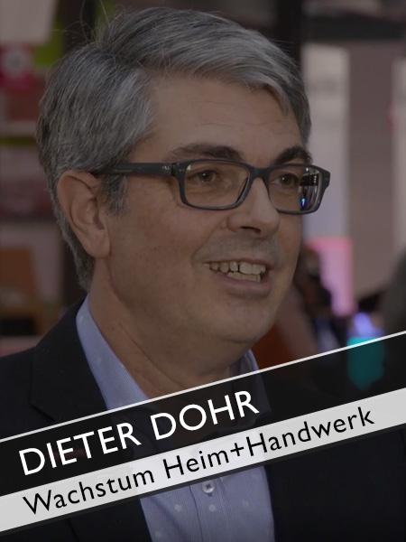 GHM Dieter Dohr Wachstum Heim+Handwerk