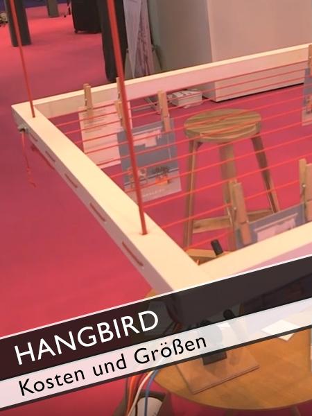 Hangbird Kosten und Größe Wäscheständer