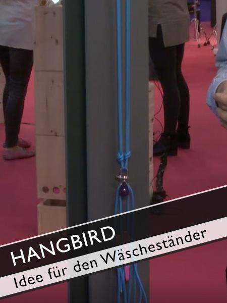 Hangbird die Idee für den Wäscheständer
