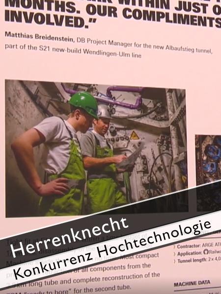 Herrenknecht - Konkurrenz im Technologiebereich