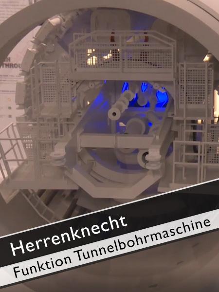 Herrenknecht - Wie funktioniert eine Tunnelbohrmaschine?
