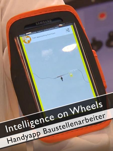 Intelligence on Wheels - Handyapp für Baustellenarbeiter