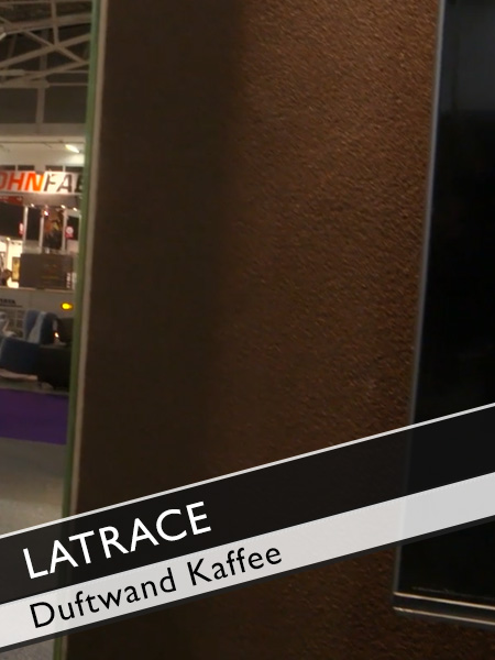 Latrace Duftwand mit Kaffeegeruch