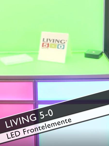 Living 5-0 LED Möbel Frontelemente mit Farbwechsel per App