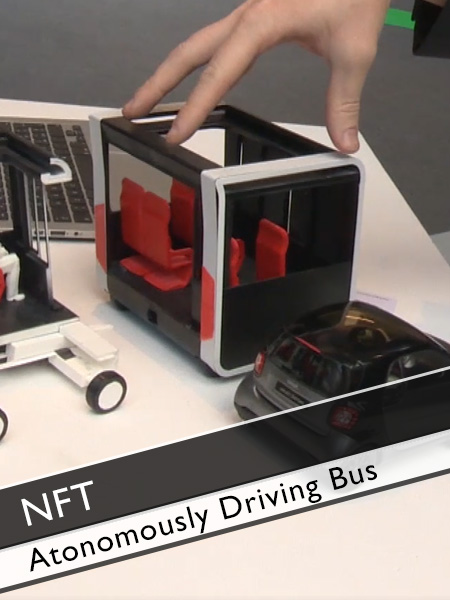 Next Future Transportation - Atonomously driving modular Bus