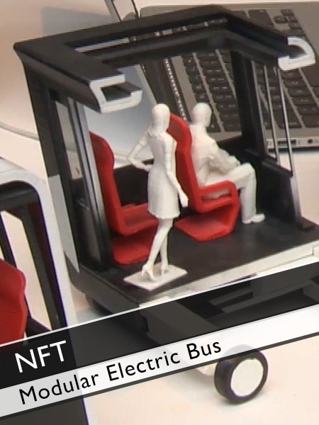 Next Future Transportation - Modular Electric Bus