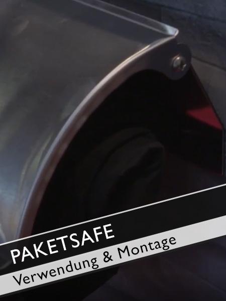 Paketsafe Verwendung und Montagemöglichkeiten