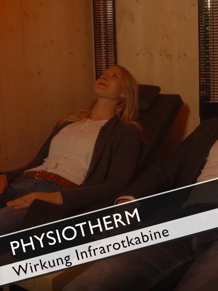 Physiotherm Infrarotkabine Wirkung auf den Körper