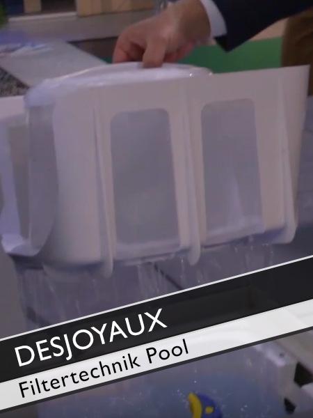 Poolguru Axel Steinbach: Desjoyaux Pool Filtertechnik ohne Kanalanschluss