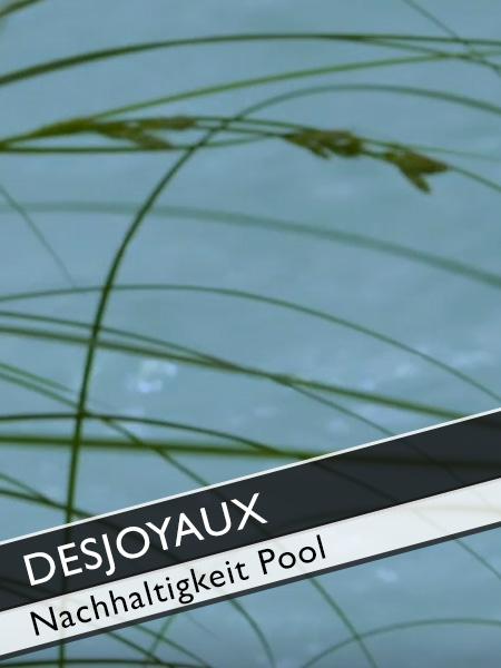 Poolguru Axel Steinbach: Desjoyaux Pools Nachhaltigkeit