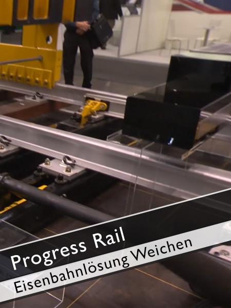 Progress Rail Eisenbahnlösungen Weichen