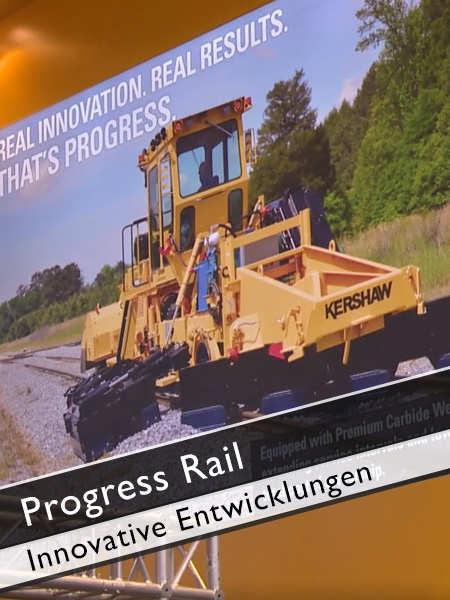 Progress Rail Stetig innovative Entwicklung