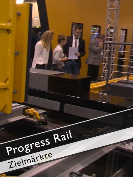Progress Rail Zielmärkte