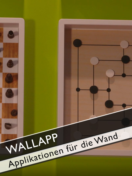 Wallapp Applikationen für die Wand