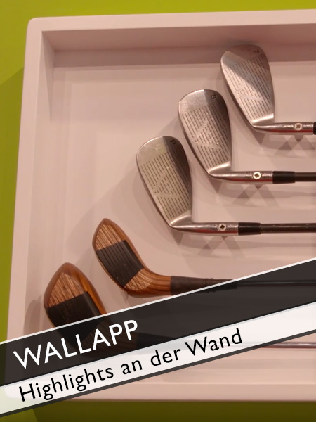 Wallapp Highlights Wandapplikationen