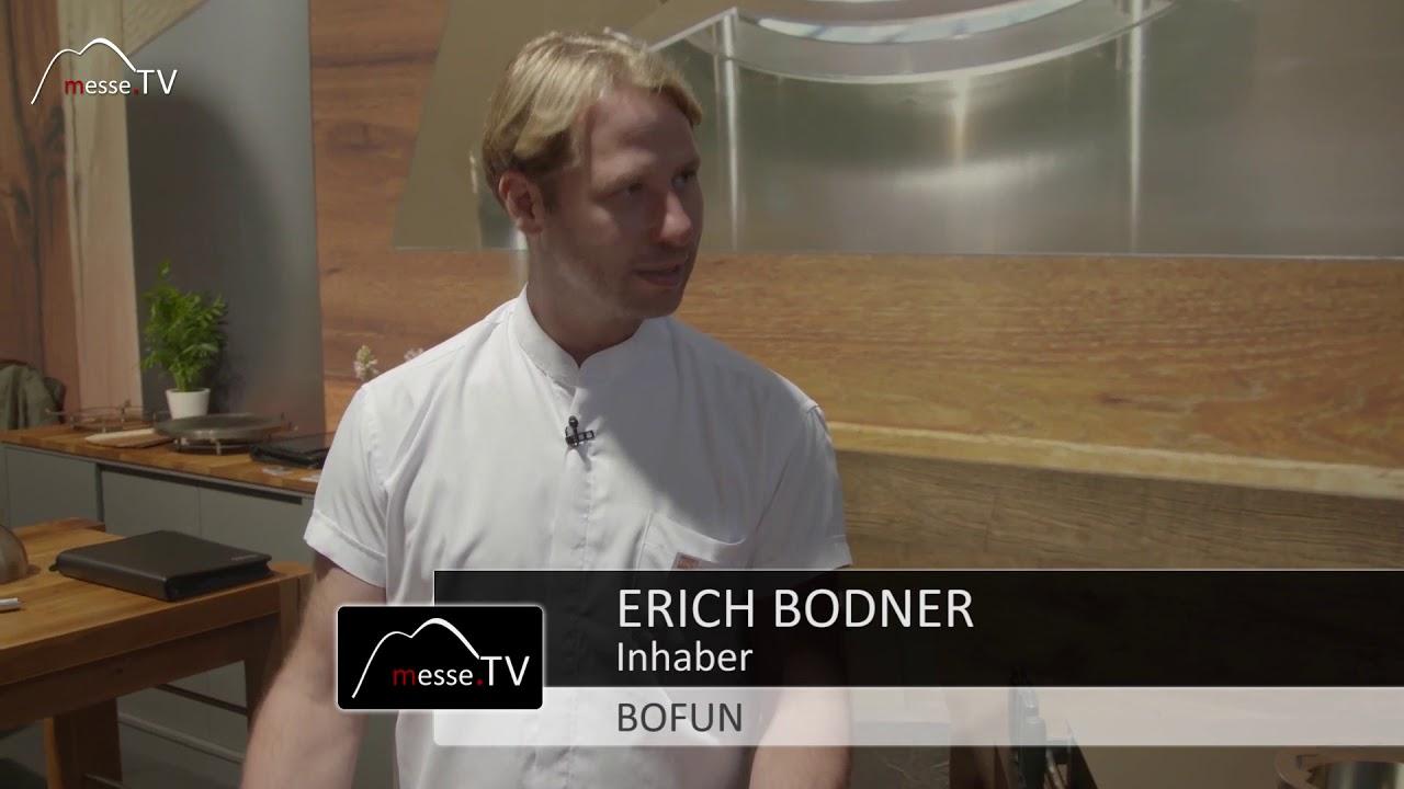 Bofun - Einbaubeispiel Wokbrenner Tischplatte