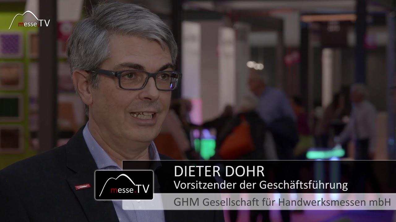 Dieter Dohr, GHM - Änderungen auf der Heim+Handwerk spürbar?