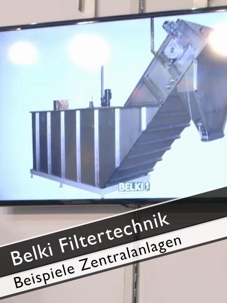 Belki Filtertechnik Beispiele Zentralanlagen