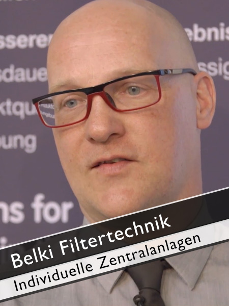 Belki Filtertechnik individuelle Zentralanlagen