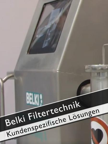 Belki Filtertechnik kundenspezifische Lösungen