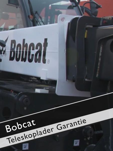 Bobcat - 3 Jahre Garantie für Teleskoplader