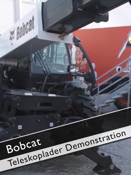 Bobcat - Teleskoplader Vorführung Nivellierung