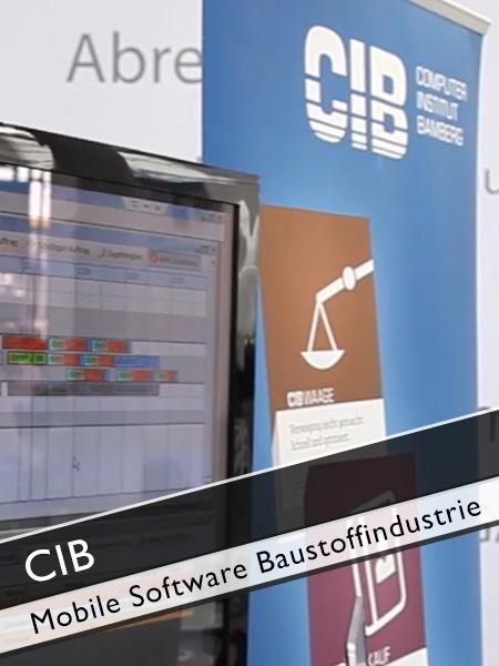 CIB - mobil Software Baustoffindustrie für Mobilgeräte