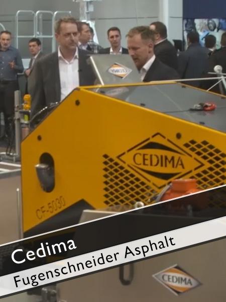 Cedima - CF 5030 MT Fugenschneider für Asphalt