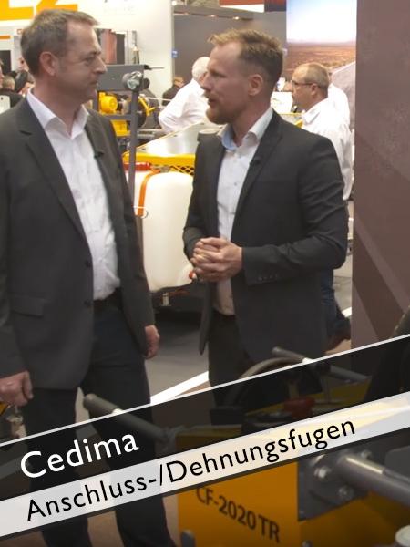 Cedima - Trockenschneidemaschine CF 2020 TR für Anschluss und Dehnungsfugen