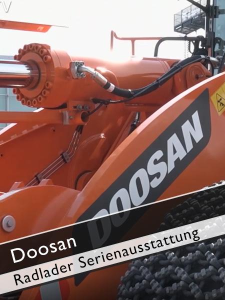 Doosan - DL 550 Radlader Serienausstattung