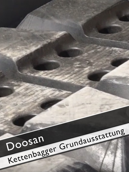 Doosan - DX 140 LCR Kettenbagger Grundausstattung