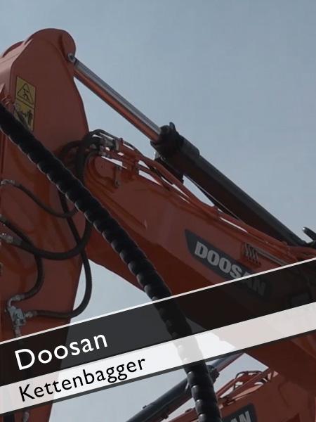 Doosan - DX 140 LCR Kettenbagger