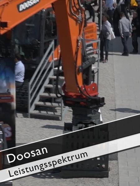 Doosan - Leistungsspektrum
