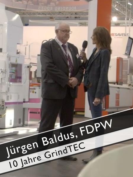 Jürgen Baldus, FDPW 10 Jahre GrindTEC Entwicklung