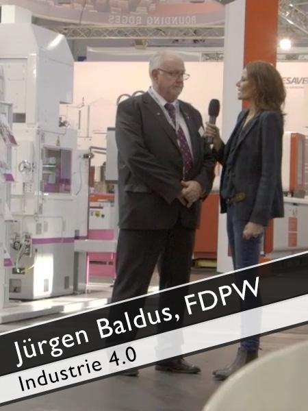 Jürgen Baldus, FDPW GrindTEC & Industrie 4.0
