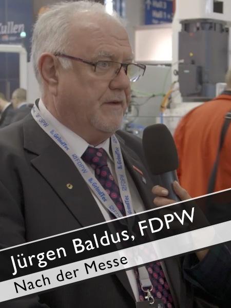 Jürgen Baldus, FDPW Wenn die Messe GrindTec vorbei ist