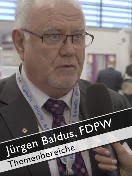 Jürgen Baldus, FDPW Themenbereiche GrindTec