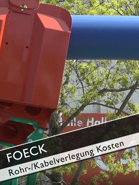 FOECK - Kosten grabenlose Rohr und Kabelverlegung