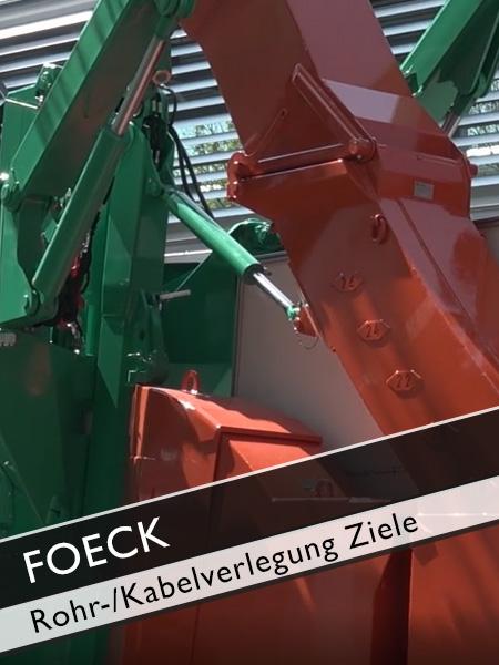 FOECK - künftige Ziele bei der grabenlosen Rohr und Kabelverlegung