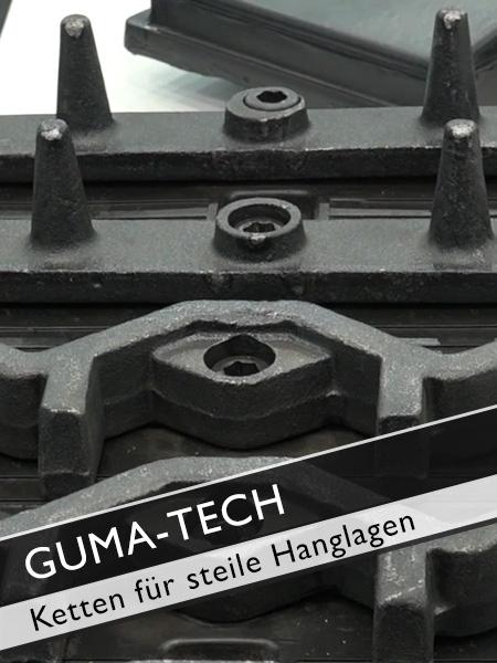 GUMA TECH - KS Ketten für steile Hanglagen