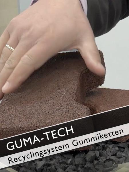 GUMA TECH - Recyclingsystem für Gummiketten