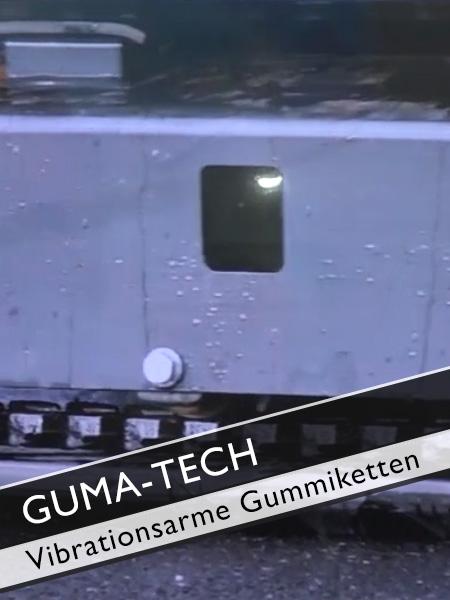 GUMA TECH - Vibrationsarme Gummiketten für Bagger