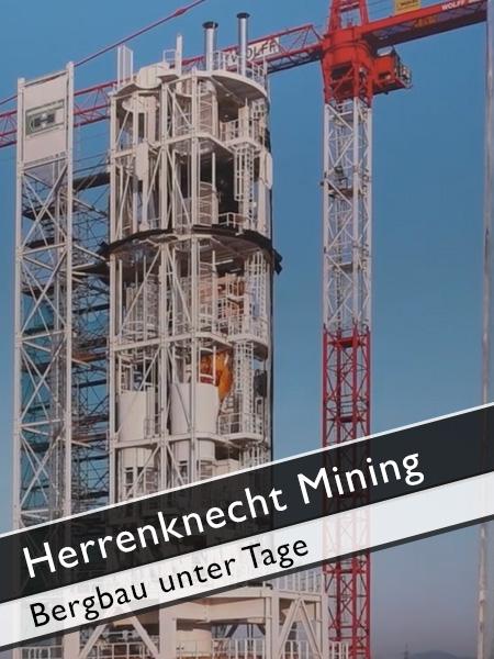 Herrenknecht Mining - Bergbau unter Tage